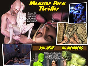 Monster porn thriller